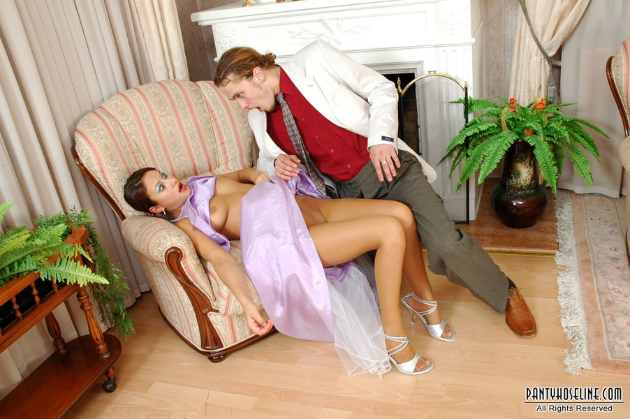 Addicted to pantyhose action