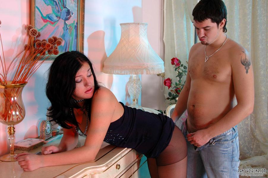 Having Kinky Pantyhose Sex Luscious 113