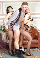 Pantyhose Orgies