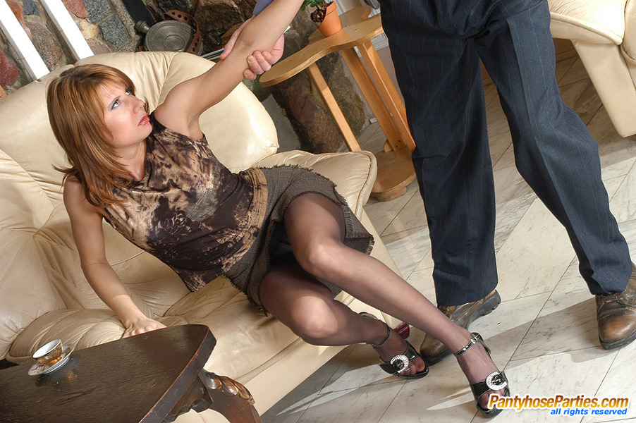 And Cummy Pantyhose Features 99