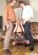 Pantyhose Group Sex