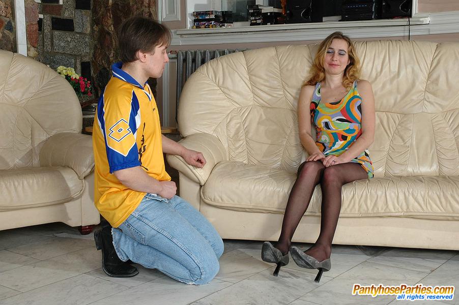 Anal Pantyhose Sex Pantyhoseparties Pantyhose 63