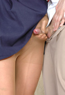 Pantyhose sex