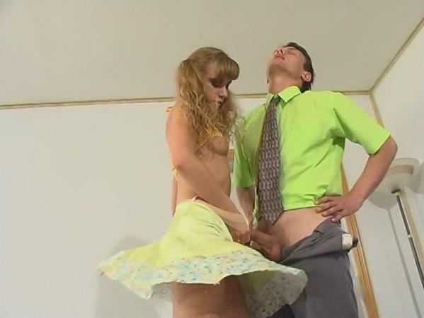 Soft Silky Pantyhose Teasing Guy 27