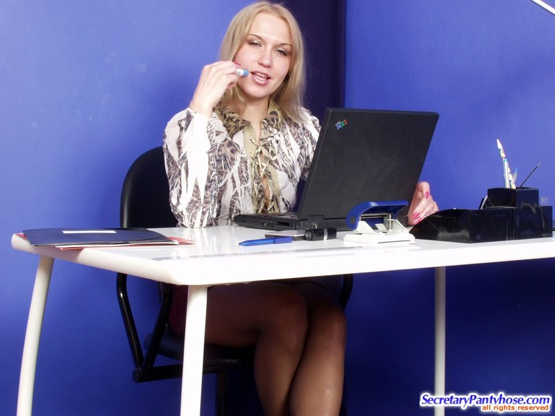 office pantyhose sex hester