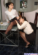 Secretaries in Pantyhose