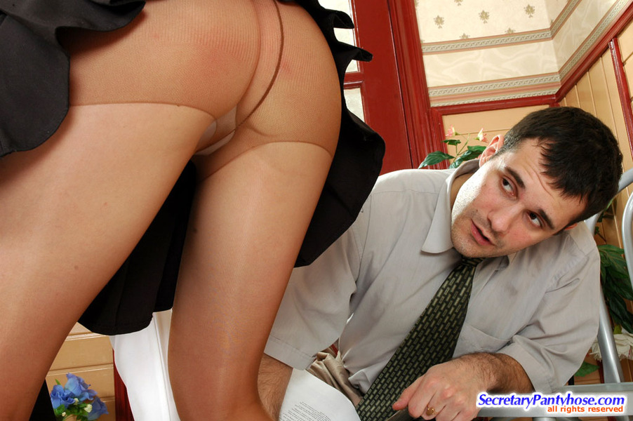 Nasty office pantyhose sex hester think