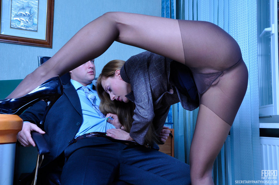 гиг порно с секретаршей колготках фото