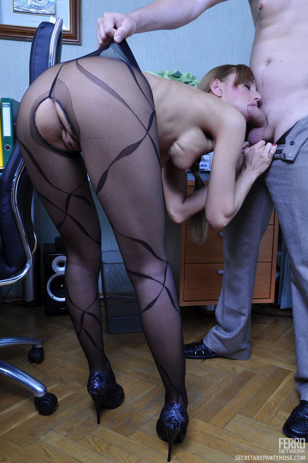 rosa and rolf having office hose sex