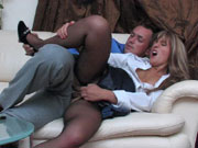 When Sheila had heard at the office watercooler that her boss Connor had sex with another secretary and had tore her office girl pussyhole open she figured she could get in on the action too Sheila needed to get her some of his hard office boss cock crammed into her tight juicy office girl vagina and Connor was happy to oblige He started pounding her pantyhose cunt and then busted a hot wad of spuzz into herplundered office girl vagina