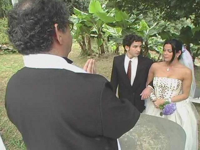 Transsexual wedding video