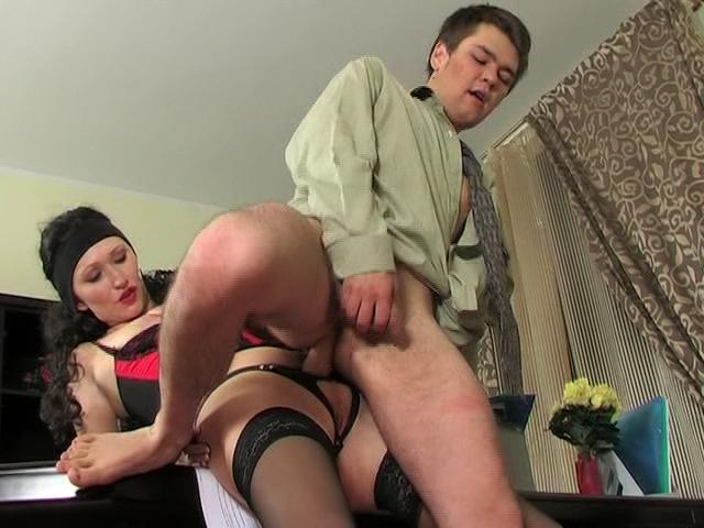 Irene & Ernest horny strapon movie