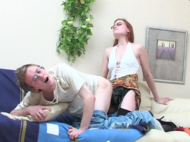 Rita & Tobias naughty strapon movie