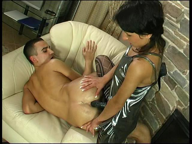 Subrina & Gilbert hot strapon video