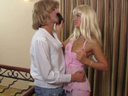 Stupid sissy fool Cyrus is the latest victim of horny cruel dominatrix Trudy as she means to try out her rigid strapon dildo on him Shell make him endure some degrading ass to mouth action after theyre done sexing things up shell make sure he does That steel hard strapon of hers is viciously slamming that sissys bunghole like a jackhammer and his gooey funky butthole is humiliated and brutalized She smiles at destroying his gripping hot sissy ass