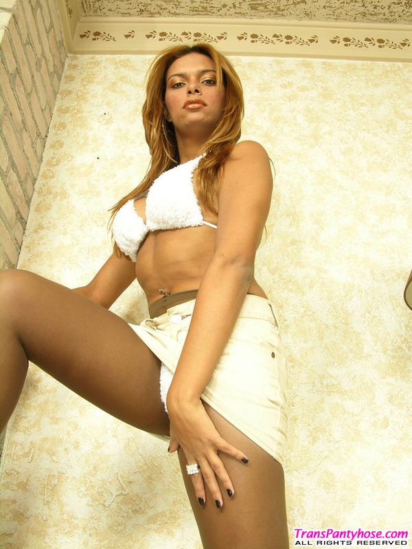 Saad Amazing Pantyhose Tranny Lady 3