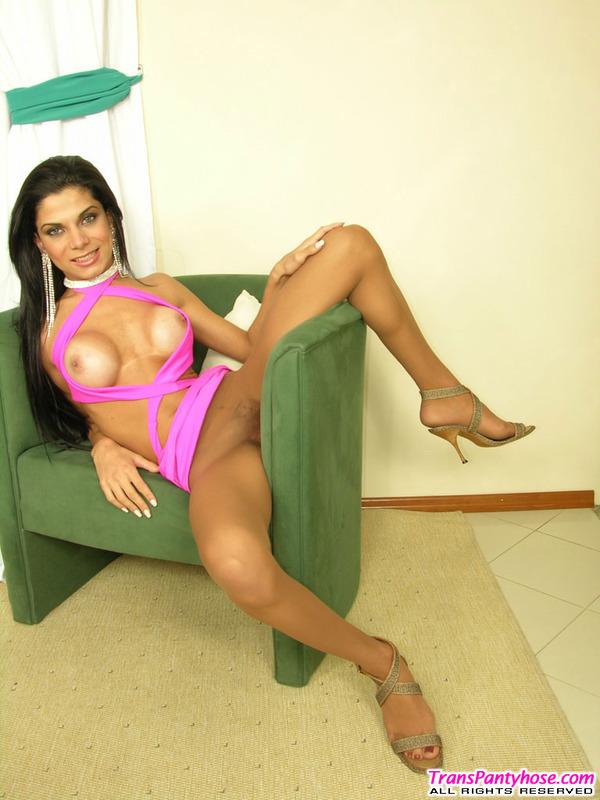 Sasha Hot Pantyhose Shemale 75
