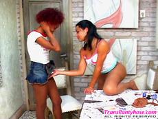 Shemale Pantyhose Videos
