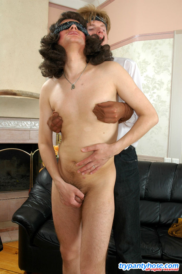 Of pantyhose to create