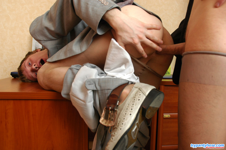 Fellows In Pantyhose Get 71