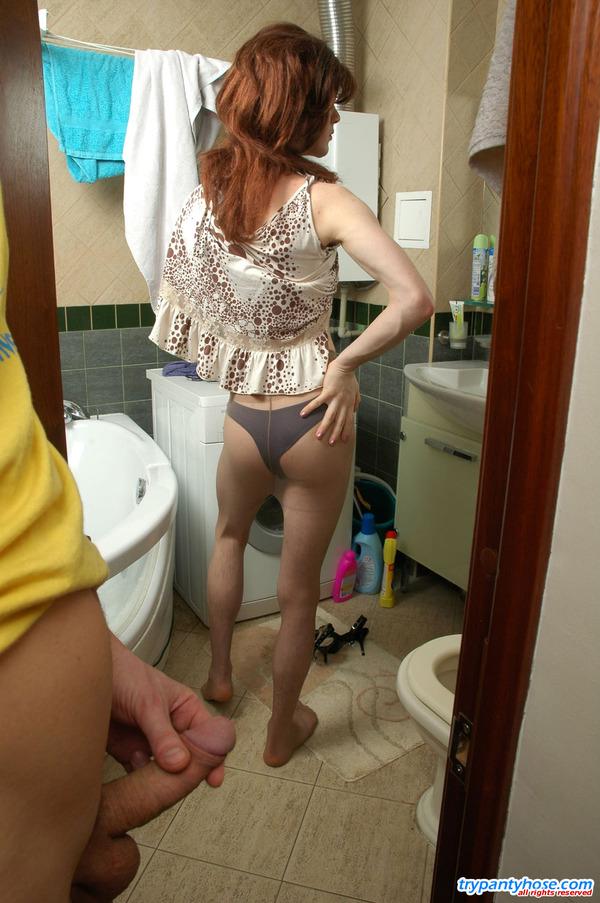 from Santiago gay sissies in pantyhose