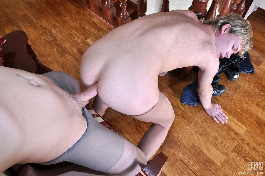 Nasty Gay Pantyhose Sex 57