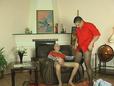 Men Wearing Pantyhose
